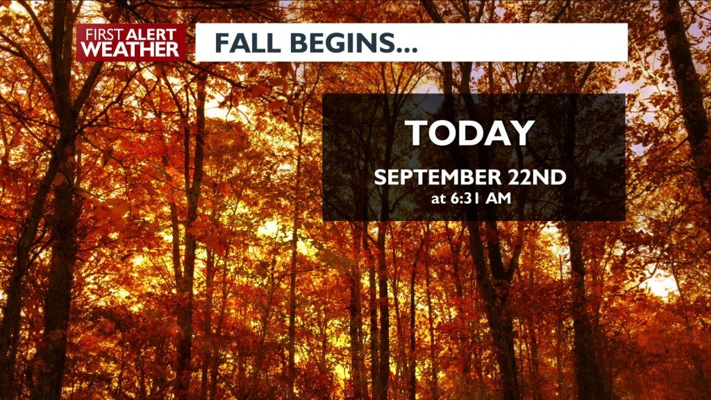 Fall Begins today!