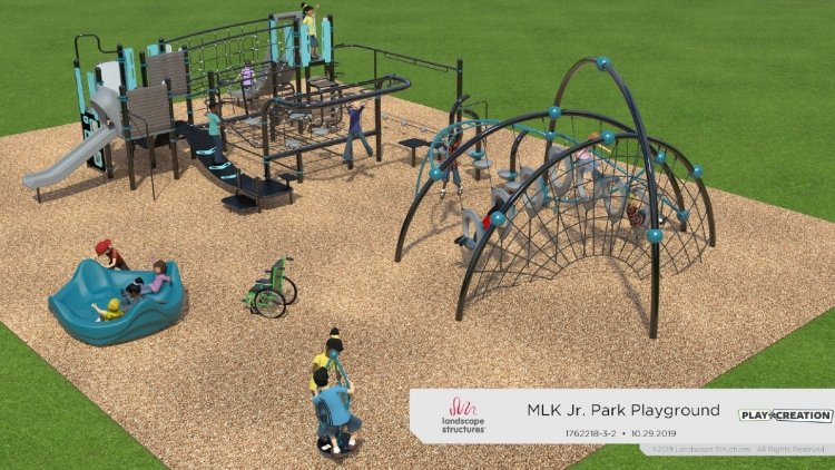 Mlk Jr. Park Playground