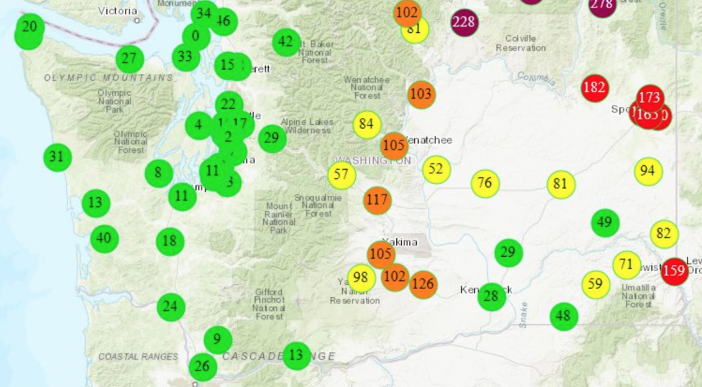 Air Quality is good in the Tri-Cities