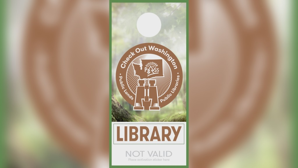 Yakima Library Discover Pass