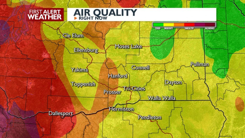 Air Quality unhealthy at times