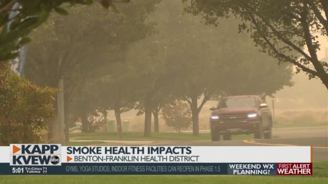Health Impacts From Breathing In Wildfire Smoke