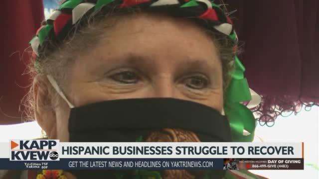 Latino Owned Businesses Struggle To Recover From Pandemic Shutdown