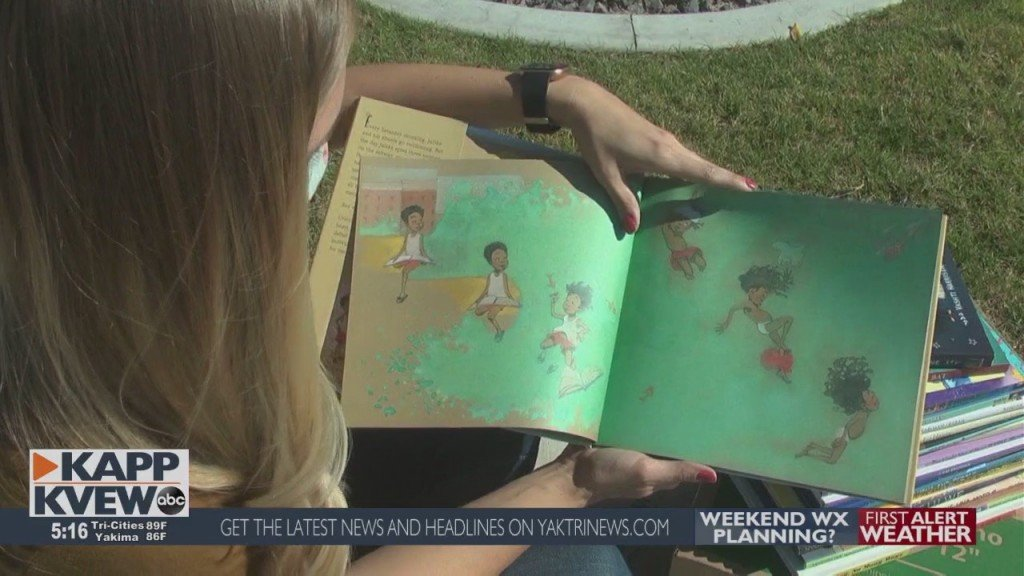 Tri Cities Woman Donates Over 600 Kids Books To Local Schools 10 7 20