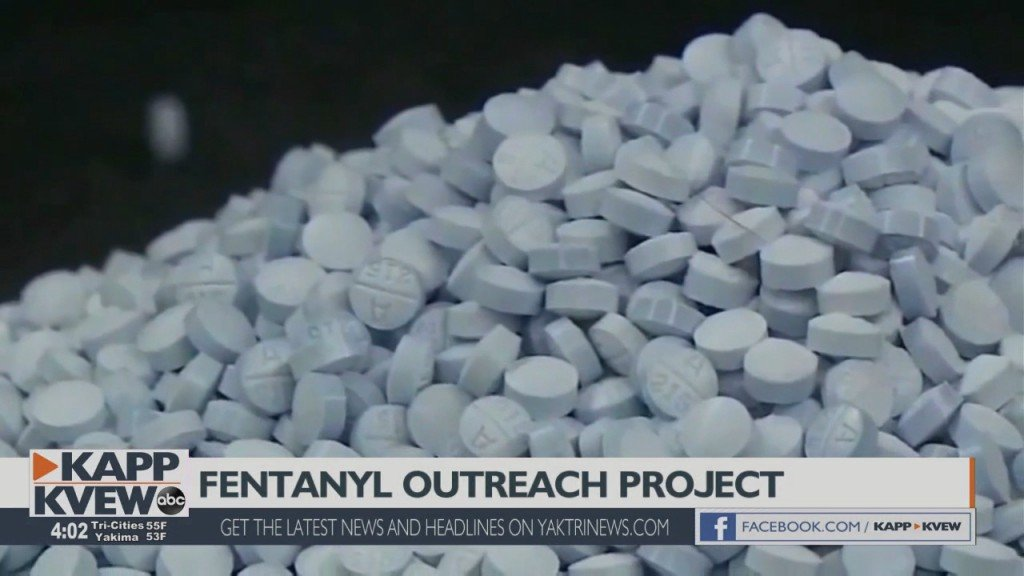 Kennewick Officials Unveil Opioid Fentanyl Outreach Project In An Effort To Save Lives