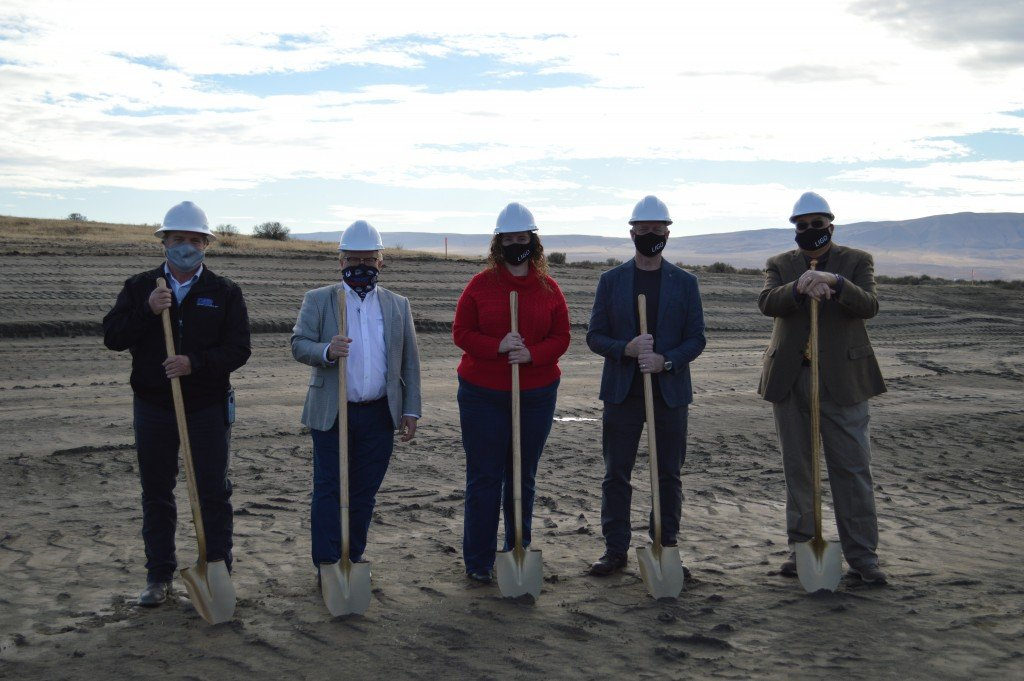 LIGO Hanford Groundbreaking