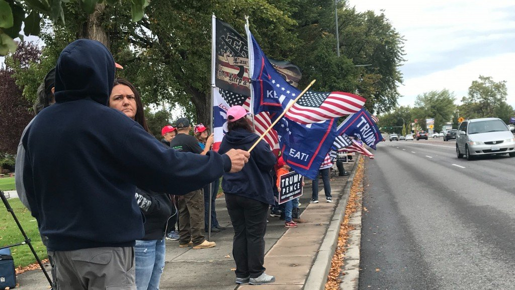 MAGA Meet-Up rally in Richland
