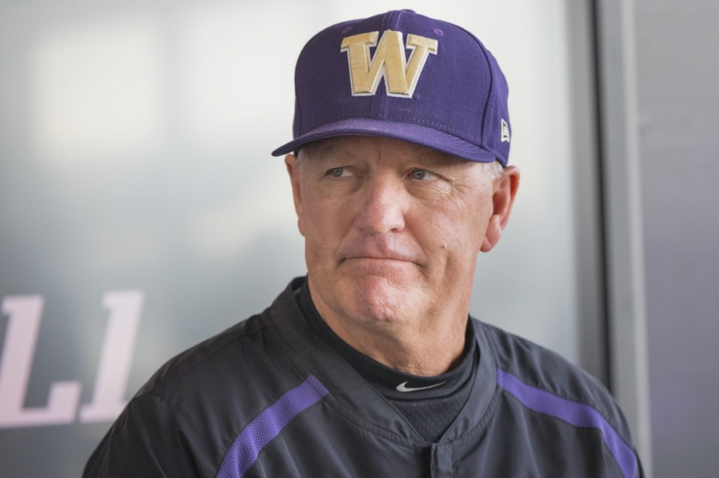 UW Baseball Coach Lindsey Meggs during the 2019 pre-season press conference
