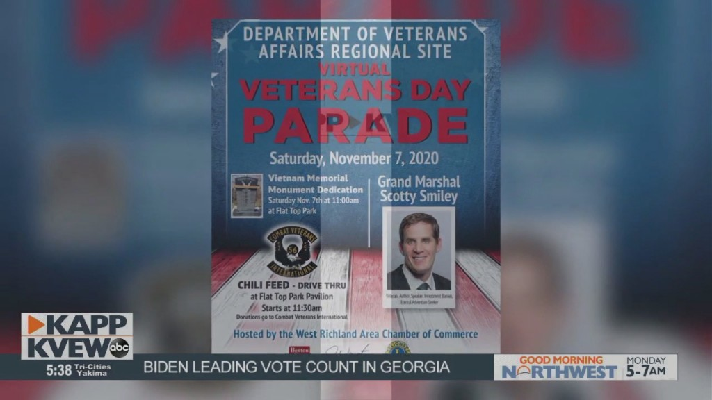 West Richland Chamber Of Commerce Veterans Day Parade Goes Virtual