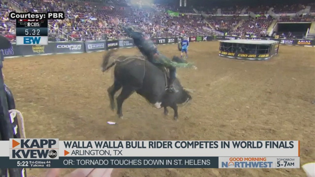Walla Walla's Kolbaba Set To Compete In The Pbr World Finals