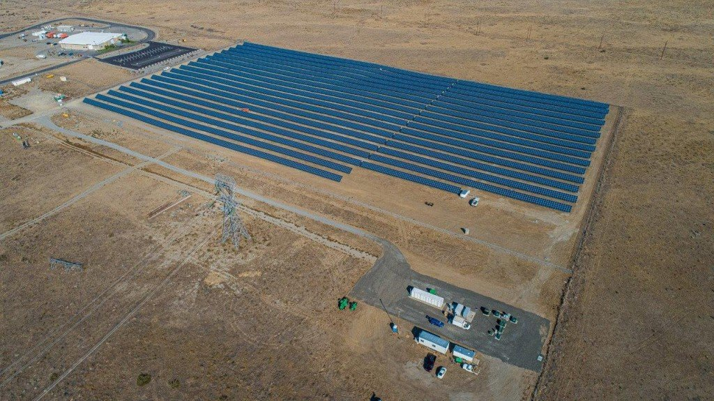 Horn Rapids Solar, Storage and Training Project