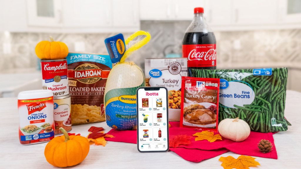 Ibotta Free Thanksgiving dinner Products