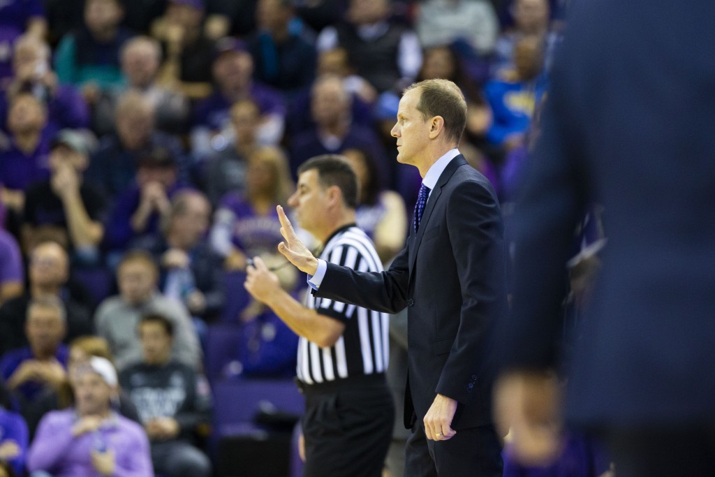 University Of Washington Head Basketball Coach Mike Hopkins