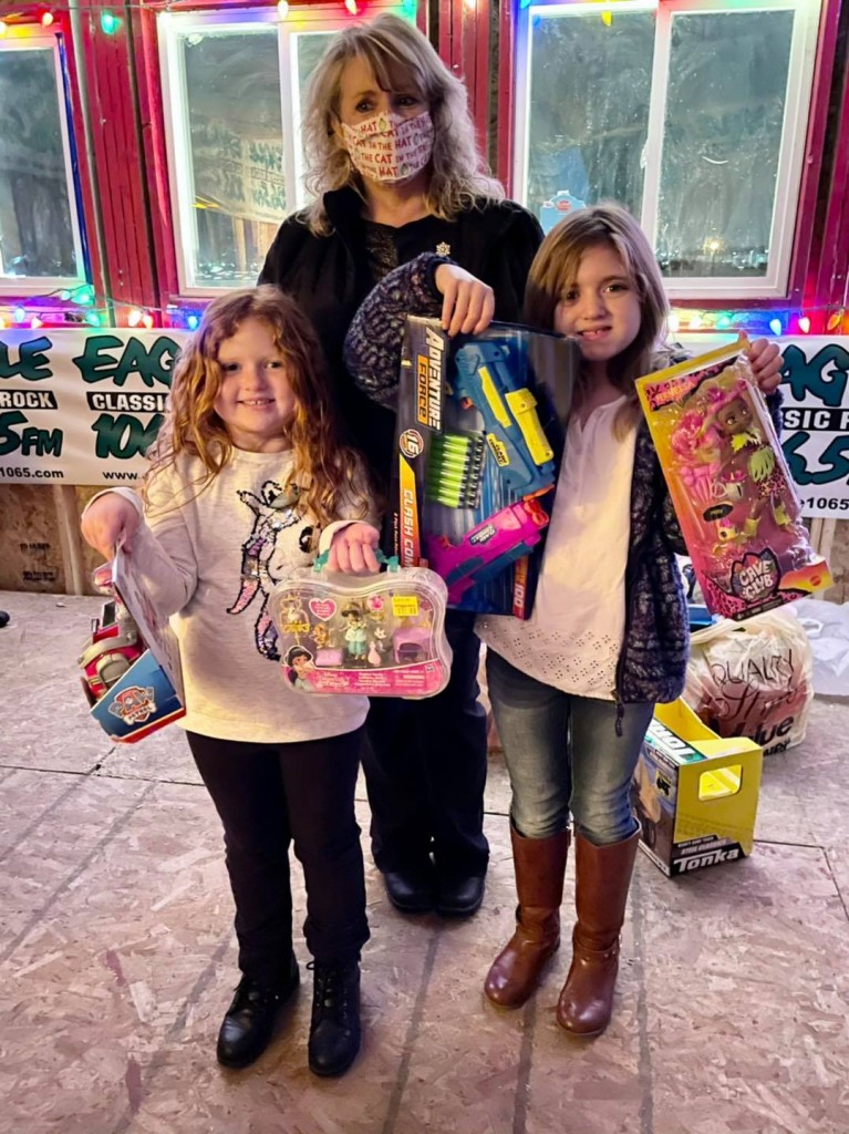 Family gives back to the community for the holiday toy drive