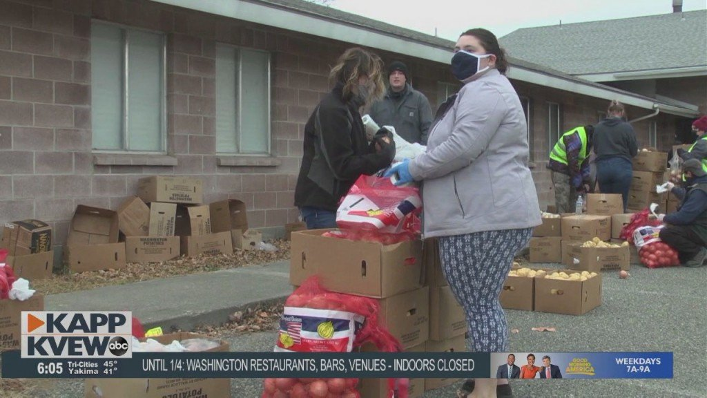 Pasco Church Donates Thousands Of Pounds Of Food To People In Need