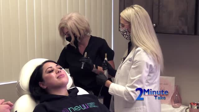 2 Minute Take New U Women's Clinic Vampire Facial