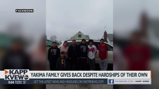 Yakima Family Pays It Forward Despite Pandemic Challenges