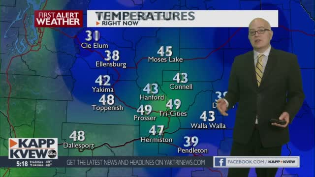First Alert Forecast Wednesday January 13th