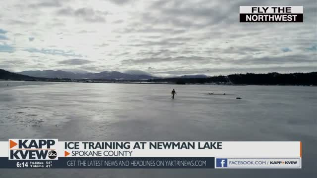 Fly The Northwest Ice Training At Newman Lake