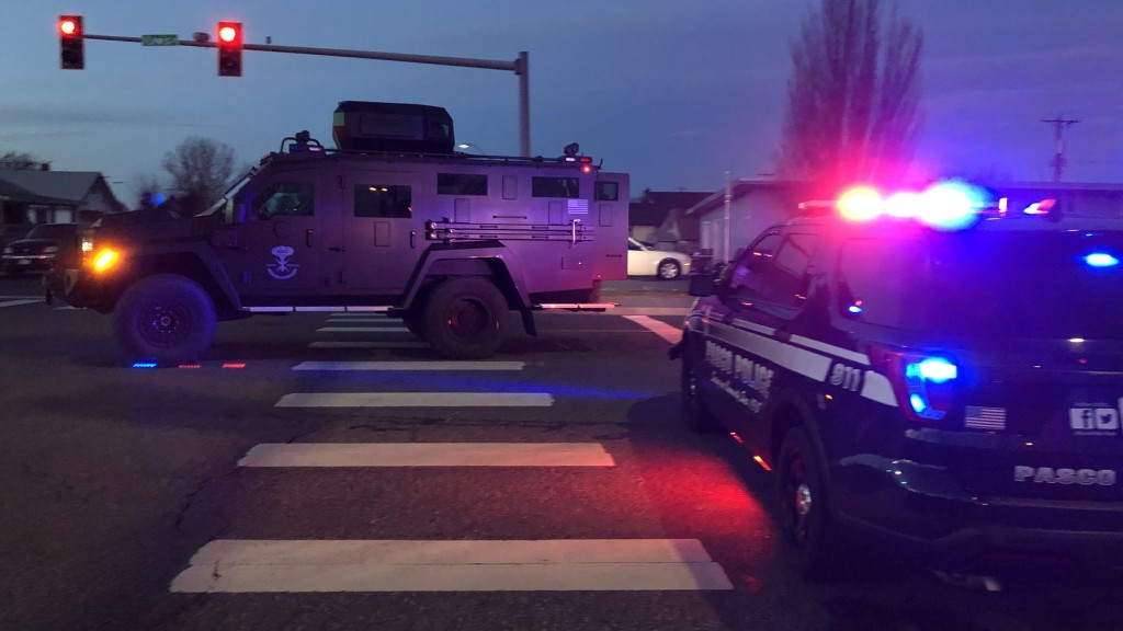Man in custody after hours long standoff