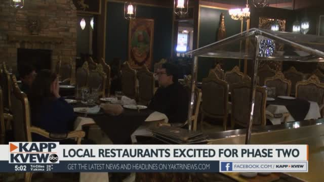 Tri Cities Restaurants Celebrate Moving Into Phase Two