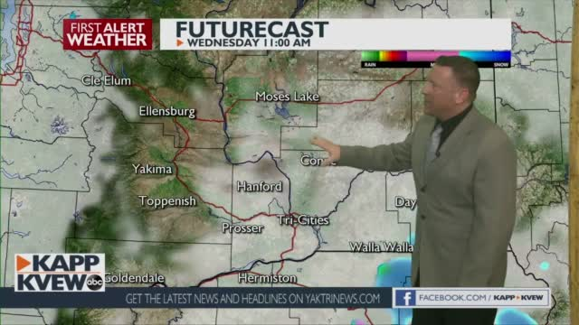 First Alert Forecast Tuesday February 2nd