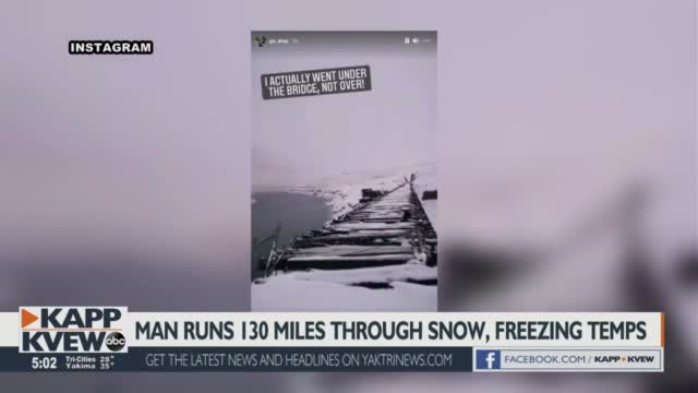 Matthew Shepard went on a 130 mile run in the snow and freezing temperatures