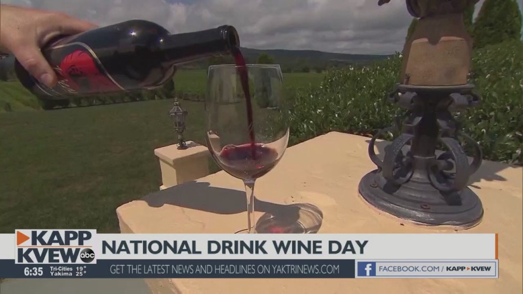 It's National Drink Wine Day!