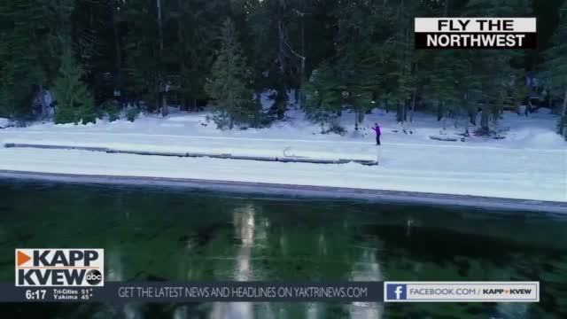 Fly The Northwest Priest Lake Cross Country Skiing
