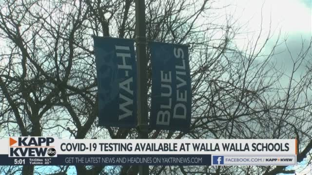 Walla Walla Public Schools Implements Covid 19 Tests On Campuses