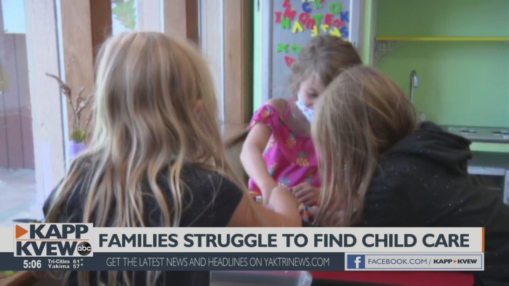 Childcare options hard to find in Washington
