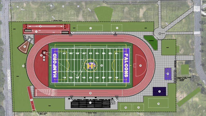 Hanford Falcons Athletic Field Upgrades