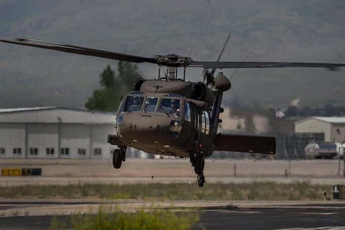 National Guard Helicopter
