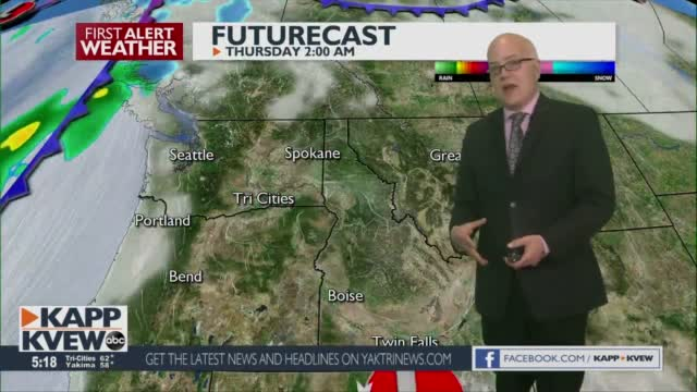 First Alert Forecast Wednesday March 3rd
