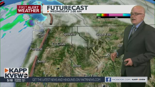 First Alert Forecast Tuesday March 2nd