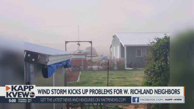 Wind Stirs Up Problems For West Richland Neighborhood