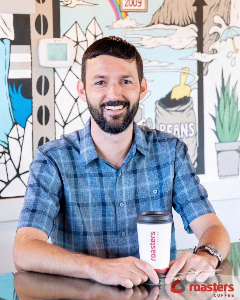 Derek Tonn was named President & CEO of Roasters Coffee in 2020