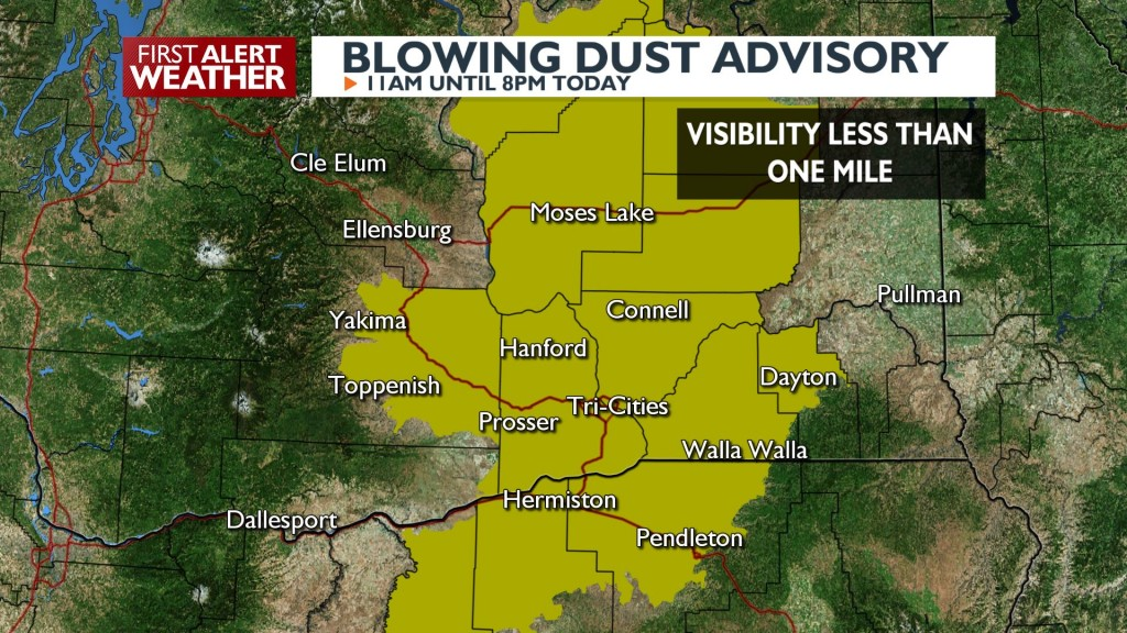 Blowing Dust Advisory