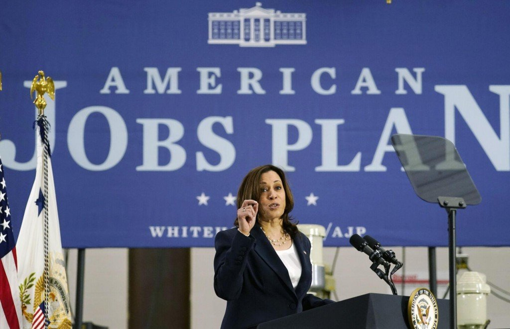 Harris Pitches $2.3t Spending Plan On Trip To North Carolina