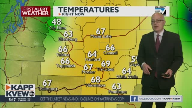 First Alert Weather Friday April 23rd