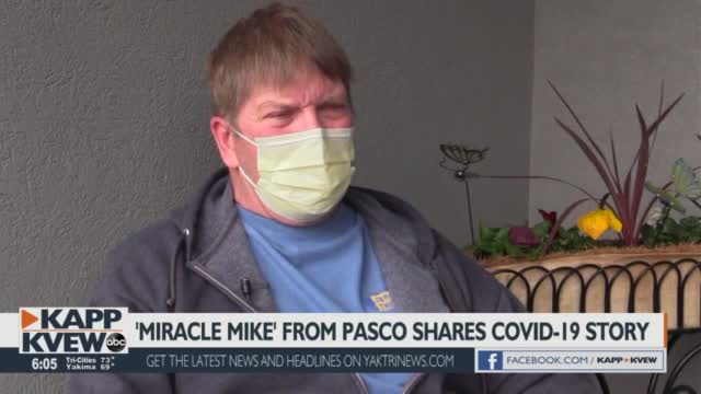 Working Past Covid: Pasco Resident Shares His Recovery Story