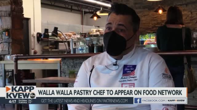 Walla Walla Pastry Chef Competes On Food Network Series