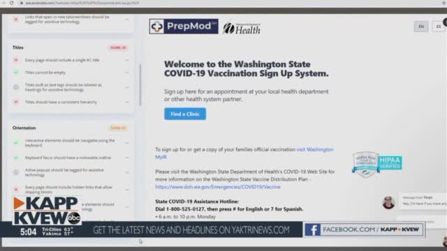 Blind, Disabled Washingtonians May Struggle To Access Covid 19 Information Online