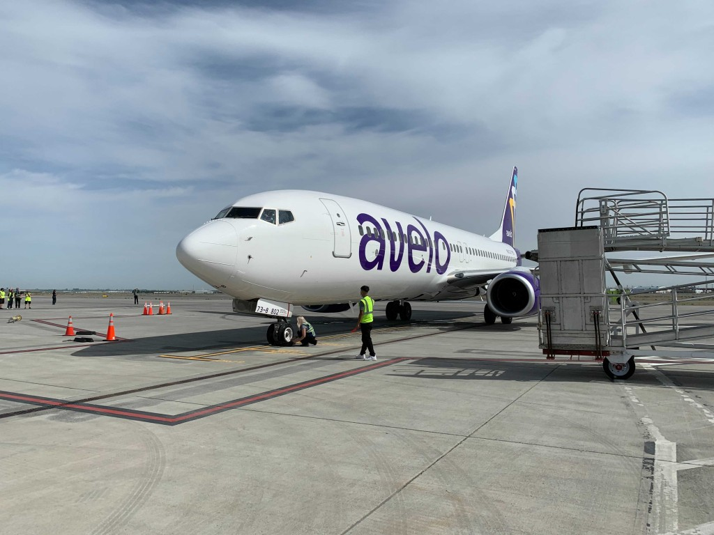 Avelo Airlines takes flight from Tri-Cities Airport for the first time