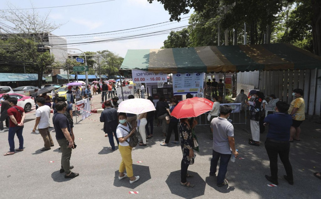Asia Today: Thailand's New Cases Exceed 2,000, Set Record