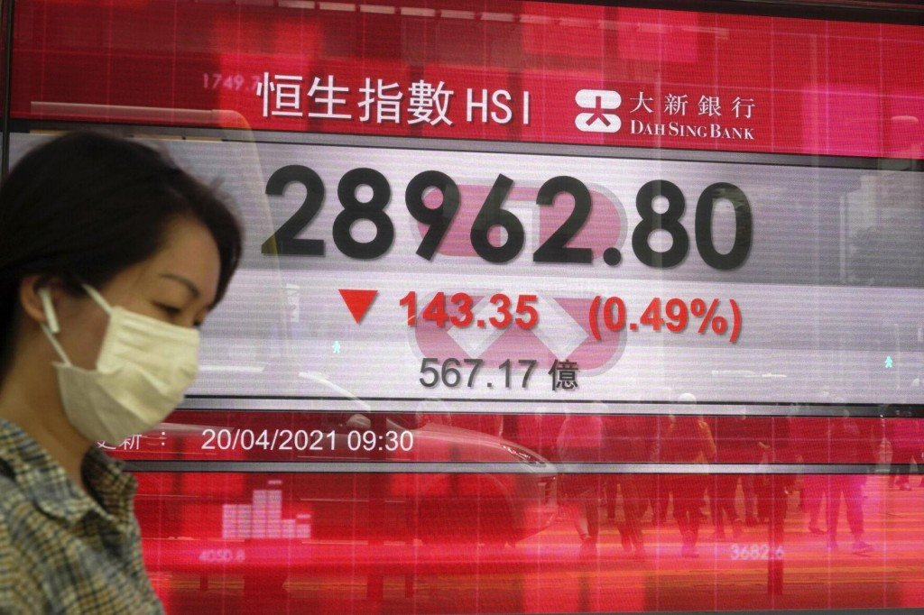 Asian Stock Markets Mixed After Wall St Decline