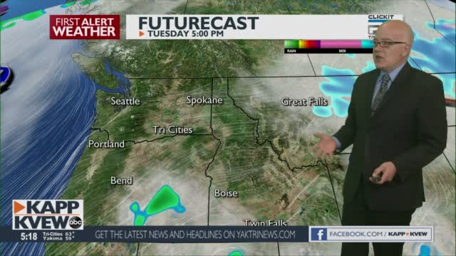 First Alert Weather Tuesday April 13th