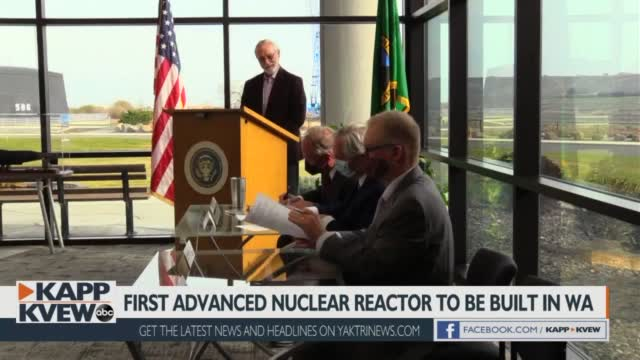 Advanced Nuclear Reactor Planned For Washington: First Of It's Kind In The Nation