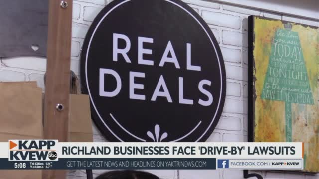 Richland Businesses Face 'drive By' Lawsuits