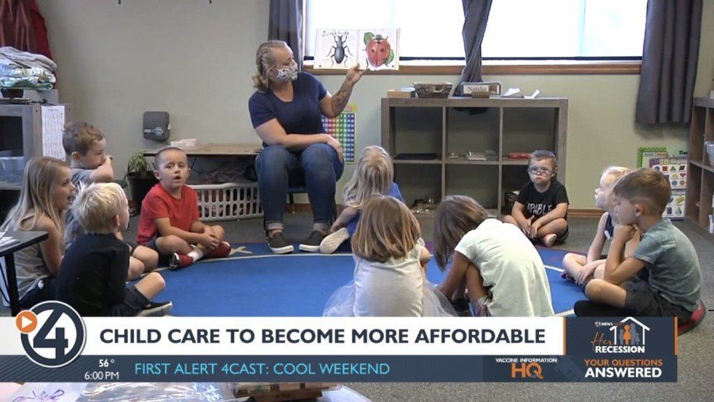 Child care more affordable